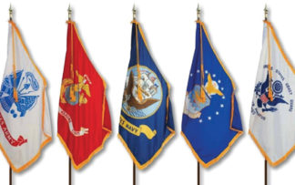 Indoor Military Flags & Flag Sets