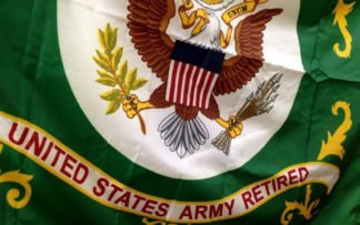 Retired Military Flags