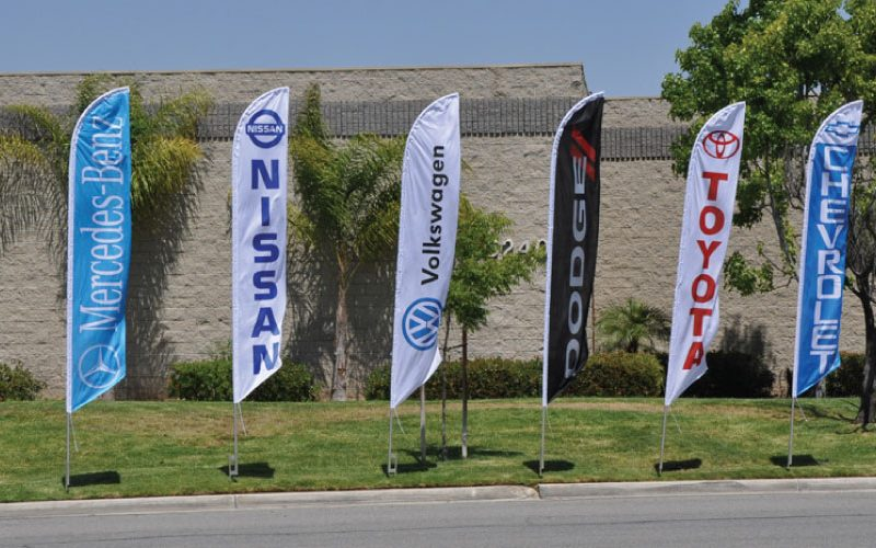 Advertising: Flagpoles